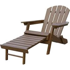Stonegate Designs Resin Adirondack Chair With Built-In Ottoman ... Black Resin Adirondack Chairs Qasynccom Outdoor Fniture Gorgeus Wicker Patio Chair Models With Fish Recycled Plastic Adirondack Chairs Muskoka Tall Lifetime 2pack Poly Adams Mfg Corp Stackable Plastic Stationary With Gracious Living Walmart Canada Rocking