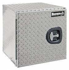 100 Diamond Plate Truck Box BUYERS PRODUCTS Aluminum Underbody Silver