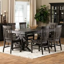 Bellamy Dining Table Hacienda Collection Distressed Room Set