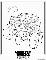100 Monster Truck Coloring Pages Printable Pages