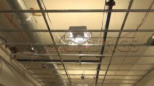 Hanging Drywall On Ceiling by Drywall Suspended Grid Showroom Drywall Suspended Ceiling Grid