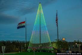 Flagpole Christmas Tree City Lights Up New Foot Tall