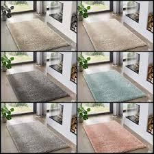 details zu teppich hochflor shaggy teppiche langflor uni farben wohnzimmer öko tex 100