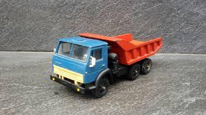 100 Blue Dump Truck Vintage Soviet USSR KAMAZ 5511 Toy 1 43 For Sale
