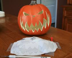 Nightmare Before Christmas Pumpkin Template by Celticmommy Tutorial How To Make Nightmare Before Christmas Pumpkins