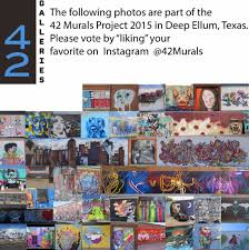 vote for your favorite mural out of 42 in deep ellum art news dfw
