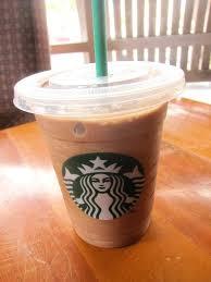 Mocha Light Frappacino Coconut Frappuccino Blended Coffee Starbucks Dark