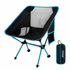 Details About KUYOU Outdoor Fold Up Chairs Beach Ultralight Portable  Camping With Carry Bag