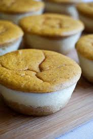 Pumpkin Layer Cheesecake by Pumpkin Cheesecake Cupcakes Fall In Bite Size Form Ketoconnect
