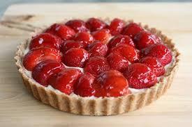 dessert aux fraises recette tarte aux fraises 750g