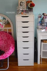 ALEX Drawer unit with 9 drawers white