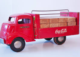 Folk Art! SMITH- MILLER COKE TRUCK SMITTY TOY