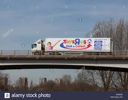 Toys R Us Truck Travelling Through The Midlands In The UK Stock ... Tonka 12v Dump Truck Also Tarps With Portland Oregon As Well Sizes Little Tikes Cozy Coupes Trucks Toysrus Are Us Hire Box Fleet Wraps Custom Graphics Decals Vinyl Bruder Toys Cat Mini Takeapart 3pack Toy State Cars R Us Used Binghamton Ny Dealer Dump Truck Cstruction Fun And A Fire Tanker Unit Farm Vehicles Pulls After It Apparently Burst Into Fire For Kids