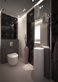 Attractive Dark Color Bathroom Decoration For Small Space Cool ... Fniture Small Bathroom Wallpaper Ideas Small Bathroom Decorating Modern Big Bathtub Design Cool For Best Modern Bathroom Decorating Ideas Tour 2018 Youtube Kmart Shelves Unique Nice Looking Shelf Simple Ideas Home Decor Fniture Restroom Decor Light Grey Retro 31 Cool Black 2019 23 Natural Pictures Decorating And Plus Designs Designs Beststylocom Relaxing Flowers That Will Refresh Your 7