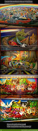 Denver International Airport Murals by These Paintings Causes My Eyes Too Eyegasm By Thedreamthief