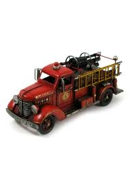 100 Metal Fire Truck Toy Classic Red Engine Trophy Gallery Shop Online 5000