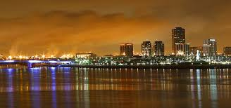 Downtown Long Beach At Night Photo Courtesy Of Jon Sullivan