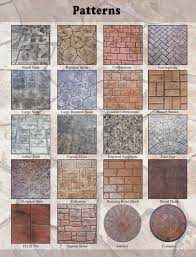 Types Of Natural Stone Flooring by Stamped Concrete Patterns Mi Decorative Concrete Patterns Mi