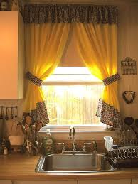 Image Of Modern Kitchen Curtains Styles