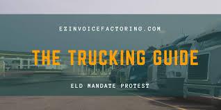 Protest Against The ELD Mandate - EZ Invoice Factoring