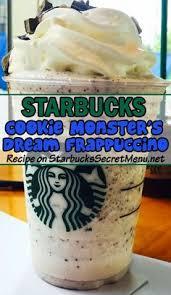Starbucks Cookie Monster s Dream Frappuccino