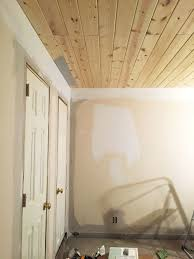100 Wood On Ceilings MASTER WOOD PLANK CEILING AMANDA TOTORO DESIGN CO