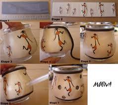 que faire avec des pots de yaourt en verre tutoriel bougeoir parole de pâte