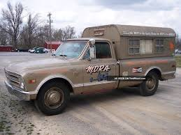 1968 Chevy C20 Vintage Camper Nhra Push Truck Rat Rod Gasser Other ...