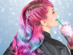 Unicorn Frappuccino Hair Is Sprinkling Magic All Over Instagram