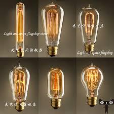 free shipping edison light bulb set pendant l vintage nostalgia
