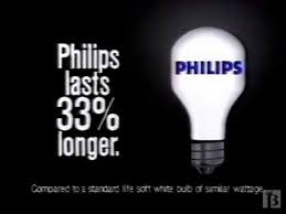 philips light bulbs commercial 1988