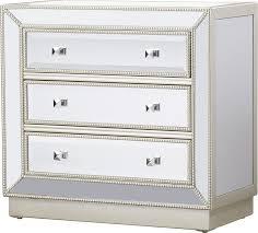 Hayworth Mirrored 3 Drawer Dresser by Willa Arlo Interiors Laurena Mirrored 3 Drawer Chest U0026 Reviews