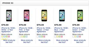 iPhone 5c Sale at Future Shop Best Buy $79 99 on Contract $50