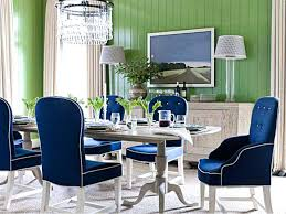 Navy Blue Dining Chair Room And White Covers Velvet Chairs Royal Outdoor Cushions