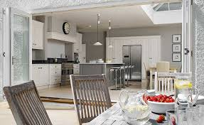 Martin Moore Kitchen Diner With Bi Fold Doors