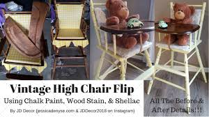 DIY Retro/Vintage High Chair Makeover! {Chalk Painting An Old High ... Vintage 1950s Aqua High Chair Baby Doll Hight Chair All Metal Find More Wood Re Finished And Painted Ocean A Highchair Makeover With Tutorial Bare Feet On The Dashboard Hello Dolly Handpainted Highchair With Crib Shabby Nursery Haute Juice 1930 Stock Photo Image Of Light Original Ding Room Lovable Jenny Lind Wooden For Enjoyable Home The Best Inspirational Photos Pic Yellow Winter Bear Home Vintage High In Sw17 Wandsworth For 1000 Sale Shpock Danish Modern Chrome Drafting