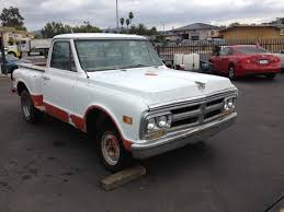 1969 GMC CHEVROLET SHORT BED PICKUP TRUCK C10 STEP SIDE ORIG ...