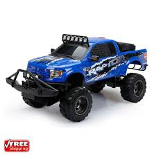 New Bright RC 1:6 Scale Ford Raptor Truck, Blue | Toys & Games ... New Bright Rc Monster Jam Truck Grave Digger Toysrus 124 Ff Twin Pack Colors And Styles Rc Trucks Youtube Radio Control 18 Scale W Buy El Toro 115 40mhz Amazoncom Sf Hauler Set Car Carrier With Two Mini Walmartcom 110 24 Ghz Grave Digger Kids Toy
