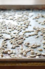 Toasting Pumpkin Seeds In The Oven by How To Oven Roast Pumpkin Seeds Popsugar Food