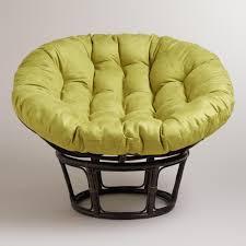 Oversized Papasan Chair Cushion by Java Microsuede Papasan Chair Cushion World Market
