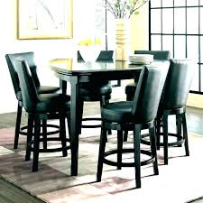Bar Style Dining Room Tables Pub Kitchen Table Sets And Set