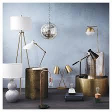 tripod floor l antique brass includes cfl bulb project 62