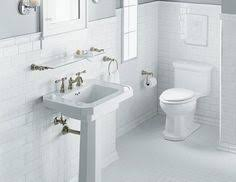 statuette of marble subway tile shower offering the sense of