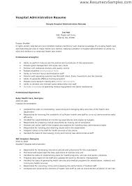 Healthcare Resume Examples Administration Here Are Office Administrator Medical Administrative Assistant