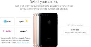 SIM Free iPhone 7 and iPhone 7 Plus Now Available From Apple