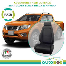Autotecnica 4WD Black Cloth Sports Bucket Seats Pair (2) For Hilux ... Ranger F100 1961 To 1966 Ford Truck Bucket Seat Brackets 23111 Autotecnica Pu Leather Sports Seats Brand New Car Ute 4wd Fh Group Universal Fit Flat Cloth Pair Cover Black The Drift Speedhunters For Dogs And Pets Cars Trucks Suvs Grey Replacement F150 Harley Rear 1997 2000 Rare 61 62 63 Ford Thunderbird Bucket Seats Power Rat Rod Hot Baja Blanket Automobile Protector C10 Chevy Install A Split 6040 Bench 7387 R10