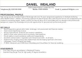 Professional Profile Resume Examples For Samples Teacher