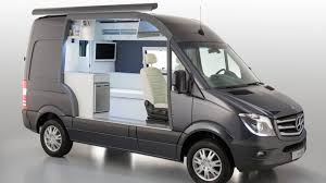 Mercedes Benz Classes Up Camper Market With Sprinter Caravan