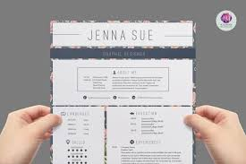 Modern Resume Template Templates Creative Market