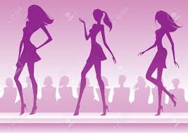 Fashion Show Clip Art 95138